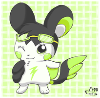 I'm cute and you know it by pichu90