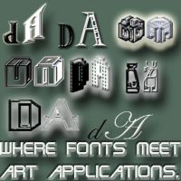 deviantArt-fonts by elfofcourage