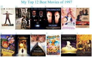 My Top 12 Best Movies of 1997
