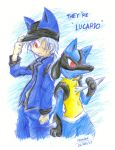 They're Lucario by hangdok