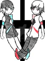 Blue and Red Twins Point Adoptables [CLOSED] by flarechess