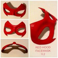 The Second GCC Red Hood facemask by Cadmus130