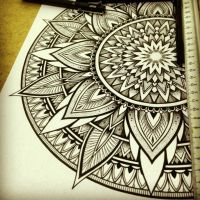 Solstice Mandala Project Day008 by OrgeSTC