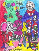 Happy 110th Birthday Dr. Seuss by SonicClone