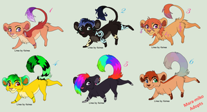 Chibi Adoptables by adoptables-breedable
