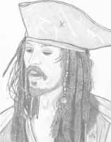 Captain Jack Sparrow 2 by selector67