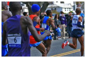 Elite Men 2010 Boston Marathon by padawan71
