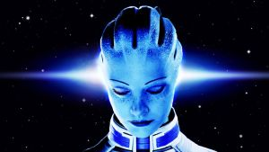 Liara Space Light by SiwaPyra