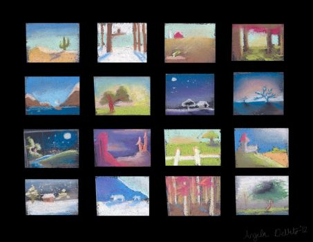 Layout Thumbnails by Archangelaart