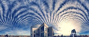 Psychedelic Skies ( Chemtrails Over San Diego ) by timothylgreen
