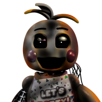 Withered Toy Chica by fearlessgerm82