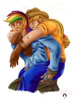 Appledash Humanized 2 by JYC