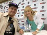 Me with MLP's Andrea Libman (Pinkie Pie) by XxFlamerunnerxX