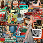 Retro|Vintage Collage by IllicitWriter