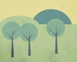Simple Landscape Scene by AniPal