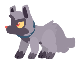 Trainter's Poochyena by Cookie-and-her-foxes
