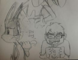 Me and Bugs by rugdog