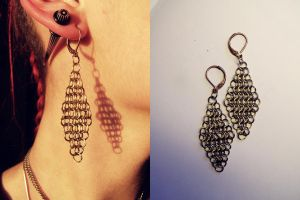 Maille1_earrings by ImbierinisSausainis