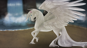 :Commission: Pegasus by Tybirius