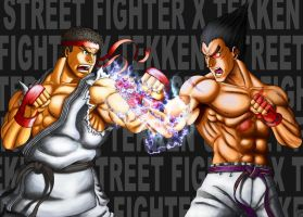 STREET FIGHTER X TEKKEN by Kukurobuki