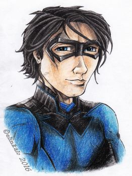 Nightwing by elinkalo