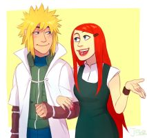 Minato and Kushina by Jazzie560