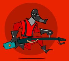 Badge: Pyro, Team Fortress 2 by kkyz13