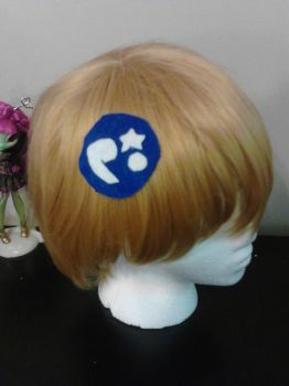 Animal Crossing Fossil Hair Clip by beyond-kawaii