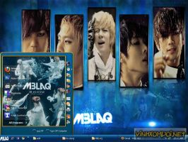 MBLAQ Theme for XP by vinhxomdoi