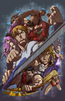 Final Fight Double Impact by megachaos