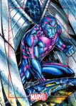 Archangel Marvel 75th Anniversary Sketch Card by P by PAC23