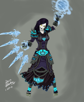 Etunicene, the Frost Mage. (Final) by Archtemplar