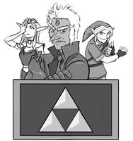 Connecticon Ganon Jeopardy by virgiliArt