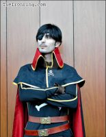 Captain Harlock's costume and props by TheIronRing