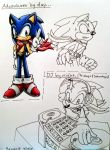 Future: Adult DJ Sonic (colored) by Sonar15