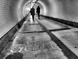 Woolwich Tunnel by blink-click