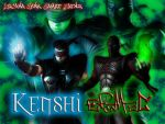 Kenshi and Ermac by ArcanaHunkCamreKaenz