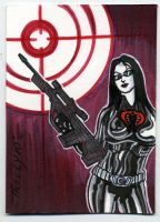 target baroness by TomKellyART
