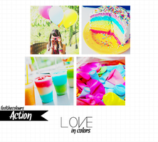Love in colors (original action) by feelthecolours