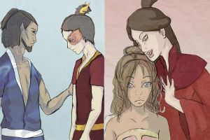 Zutara Week - Family Matters by taghairm-zutarian