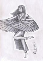 The Winged Lady by MyWorld1
