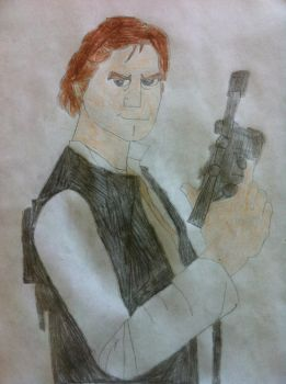 Han Solo by BlueHedgehog1997