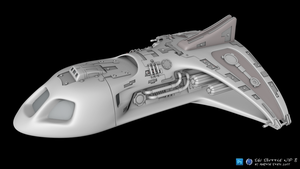 SGU_DestinyShuttle_WIP_08 by SGA-Maddin