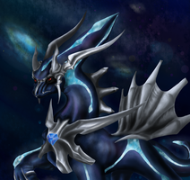 Dialga: The Keeper of Time by FayeleneFyre