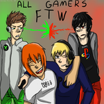 All gamers ftw :3 by Zero-Chan-Anime-Fan
