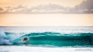 Green barrel surf by andreaswinter