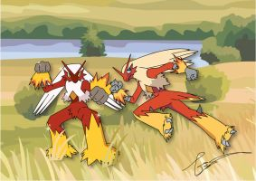 Speed up Blaziken by FraankBiebs