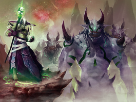 The Summoner's Legion by jeffchendesigns