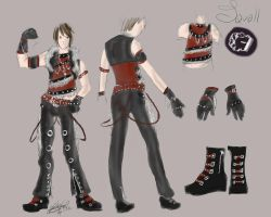 Squall outfit UPDATE by VanityElric