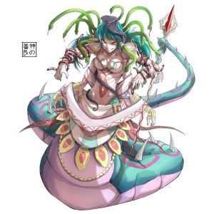 Naga Medusa Level 2